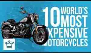 Video: Top 10 Most Expensive Motorcycles In The World